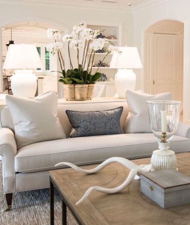 Neutral Living Room Dcor Ideas