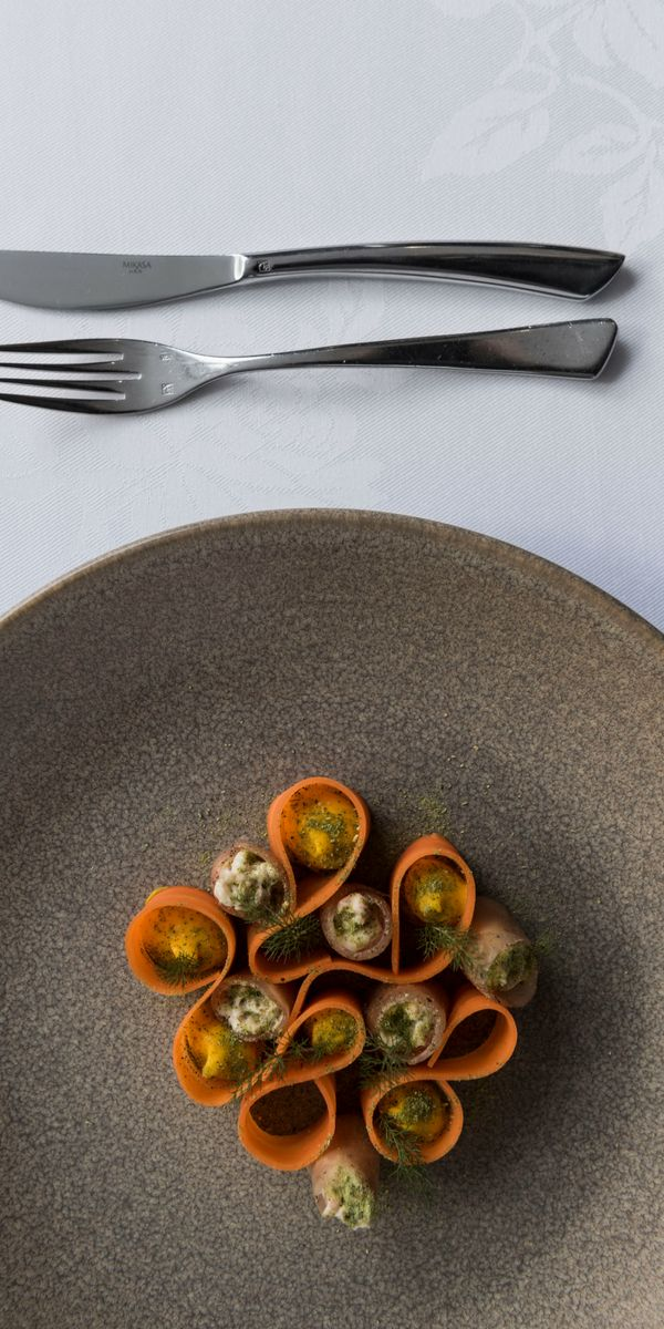 Fine dining at Pescatore, The George, Christchurch NZ