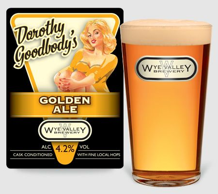 Dorothy Goodbody's Golden Ale, Alight gold coloured ale with good hop character throughout. 4.2% ABV  #realale