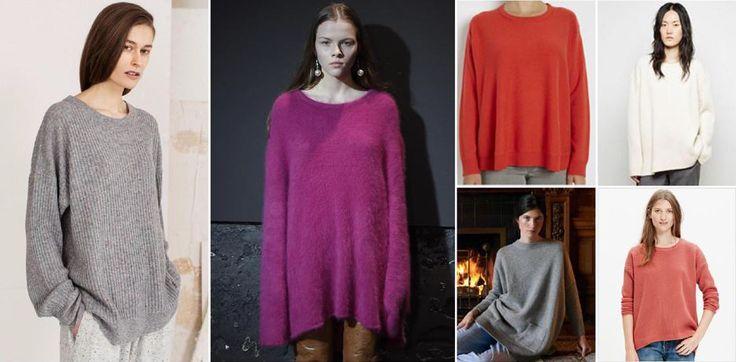 Fluid Hem Wool Sweater