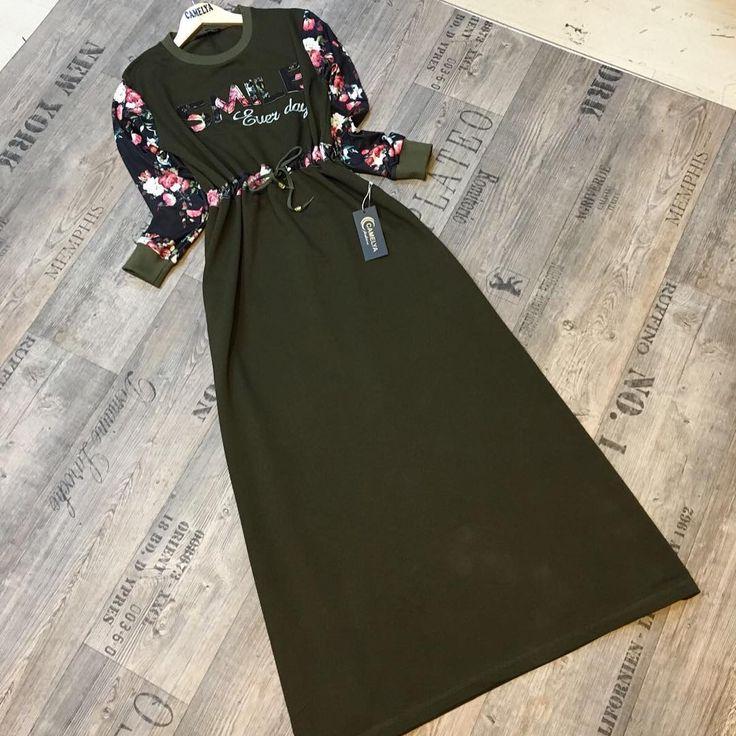 Kampanya 👏👏👏 Harika iki iplik büzgülü tam boy elbiseler sadece 69.90 Kargo ücretsiz👏🏻 Kumaş iki iplik 👏🏻Boy 140cm 👏🏻Beden 38/40/42/44  KAPIDA ÖDEME Whatsapp 05422840146
