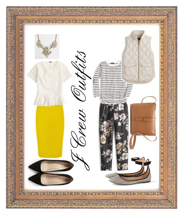 """J Crew Outfits"" by spencerarianasloan on Polyvore featuring J.Crew"