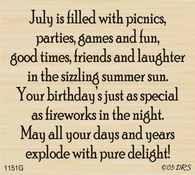 July Birthday Greeting