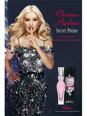 Secret Potion Christina Aguilera perfume