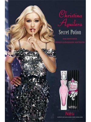 Christina Aguilera Secret Potion Perfume