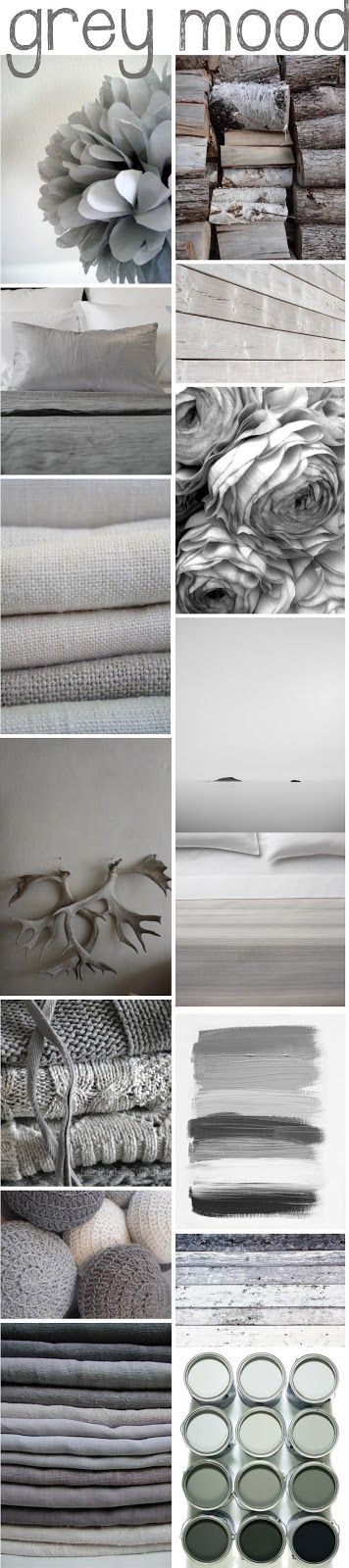 Grey Mood, See more inspirations at http://www.brabbu.com/en/inspiration-and-ideas/ #MoodBoardIdeas #MoodBoardDesign #MoodBoardFashion
