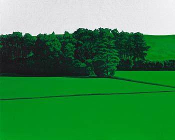"Valentina D'Amaro, ""Untitled (right)"", 2012, oil on canvas, cm 80 x 100"