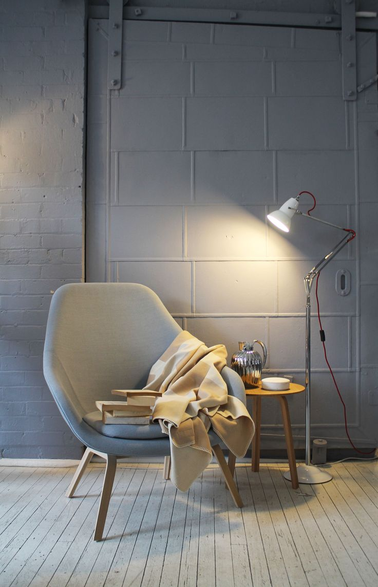 Cult | Sydney showroom featuring About A Lounge and Anglepoise Type 1228.