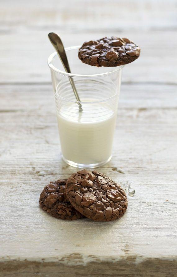 Chocolate Brownie Cookies: Cookies Brownies, Peanut Butter Banana, Chocolate Brownie Cookies, Choc Chips Cookies, Food, Chocolates Cookies, Cookie Brownies, Chocolates Brownies Cookies, Chocolate Brownies