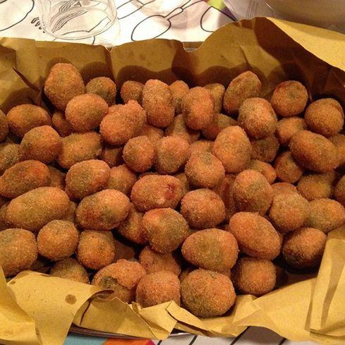 Olive ascolane, Ascoli's most famous food recipe