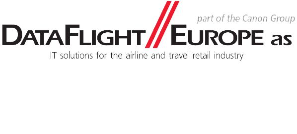 DataFlight Europe A/S Part of canon group logo