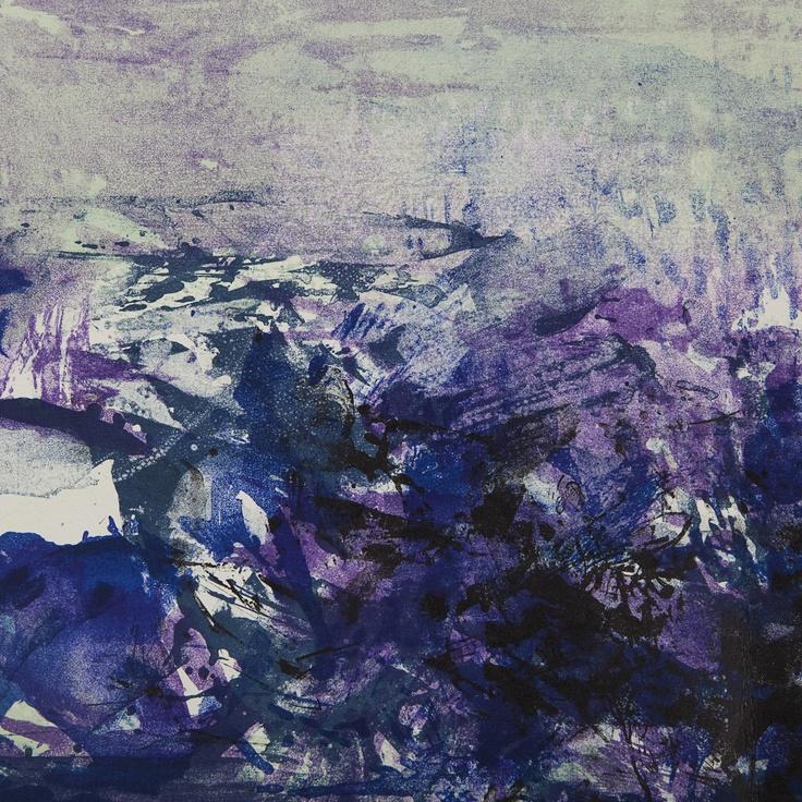 Zao WOU-KI. A LA GLOIRE DE L'IMAGE and ART POETIQUE - #pinterest
