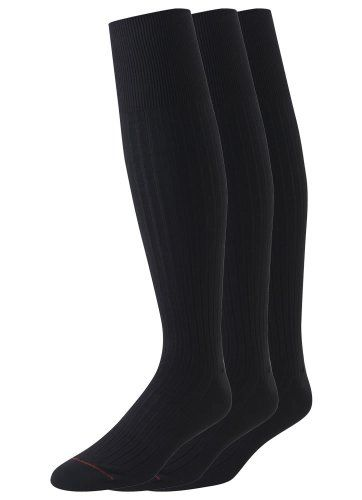 nice Jockey Men's Staycool Modern Rib Dress Over The Calf 3 Pack, Black, Shoe Size 6-12 (Sock Size10-13) -Made in USA Dress crew -http://weddingdressesusa.com/product/jockey-mens-staycool-modern-rib-dress-over-the-calf-3-pack-black-shoe-size-6-12-sock-size10-13/