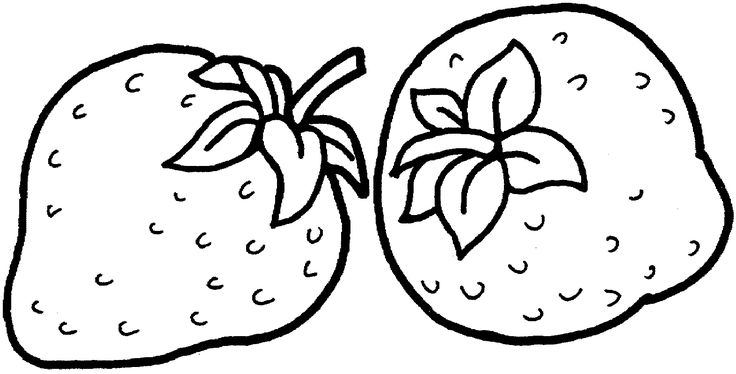 42 best Strawberry Coloring Pages images on Pinterest   Strawberries ...