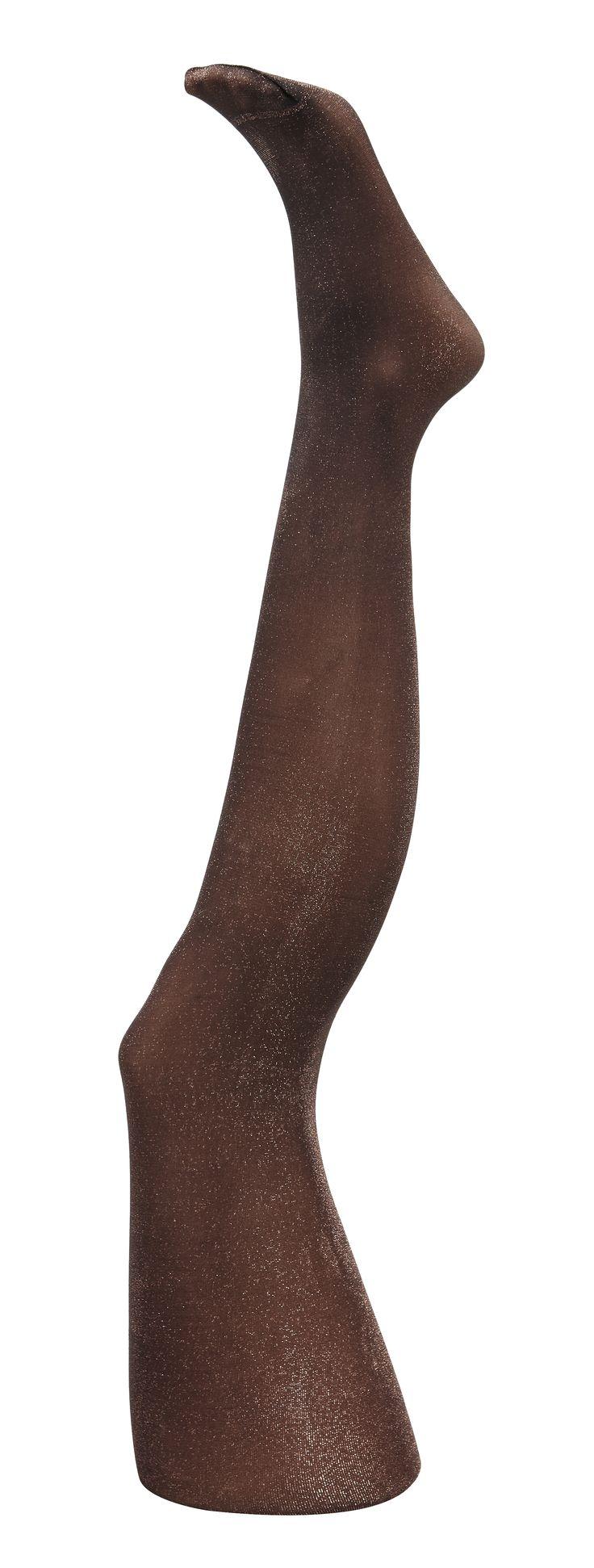 Collants ILUREX. Une finition exceptionnelle pour ce collant en lurex. Toute en brillance vos jambes seront magnifiques. Collant 40D. coutures plates. gousset coton. Repassé. formé droit. Partenariat LE BOURGET. #mode#elora#elorabygf#collants#lurex#bronze#scintillant#LE BROUGET#