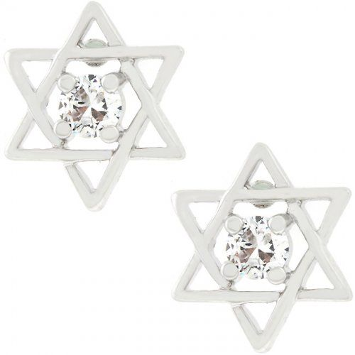 Star Of David Stud Earrings    http://atomicfleamarket.com