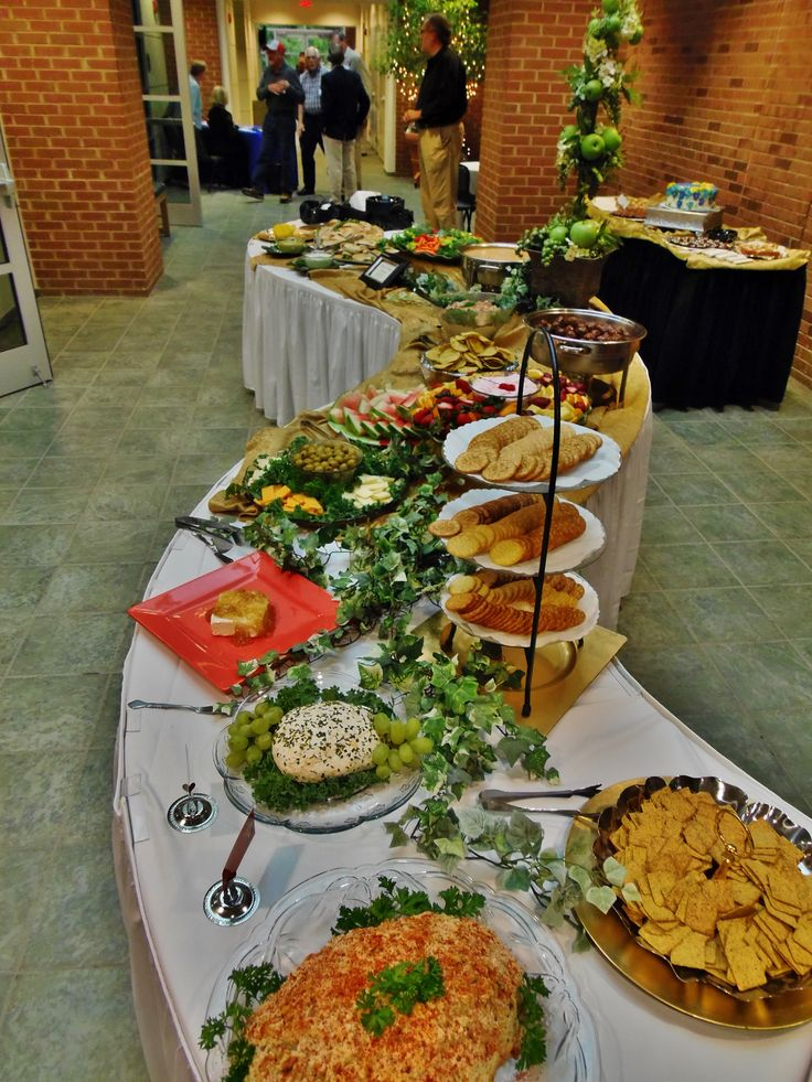 finger food buffet on spiral shaped tables for a special birthday party catering photo 39 s. Black Bedroom Furniture Sets. Home Design Ideas