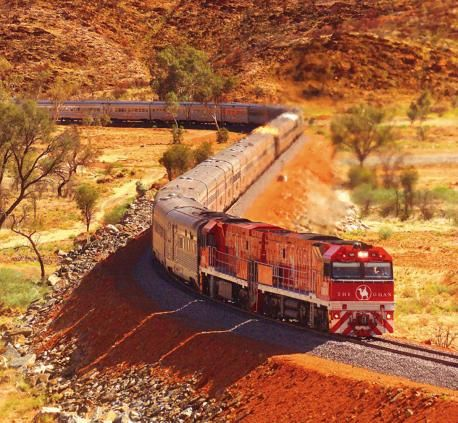 Ghan's 10-year journey: Do the NT by train and take the Ghan through the Outback from Alice Springs to Darwin, Northern Territory, Australia