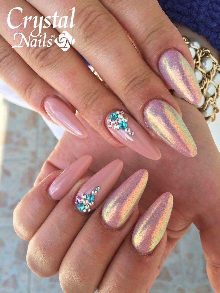 343 Besten Crystal Nails Bilder Auf Pinterest Nailart Acryl Ngel