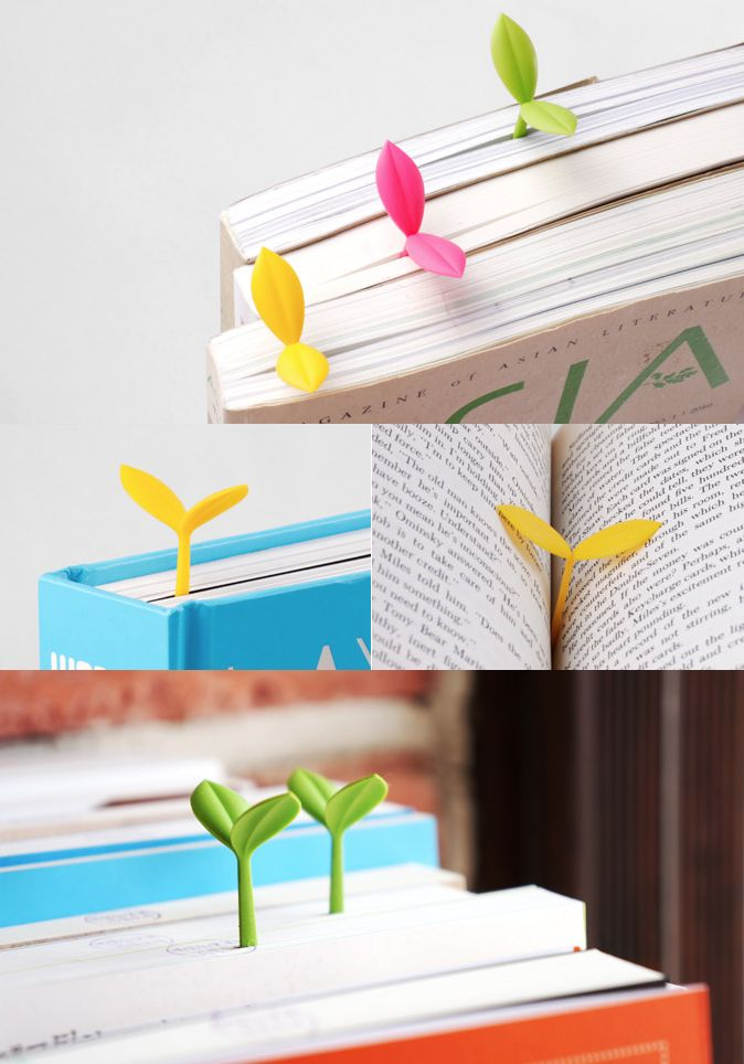 To use this cute bookmark, simply place it in the middle of the book or on the top! It will look like a cute sprout peeping out from your book. It can also be a cute decoration on your desk!