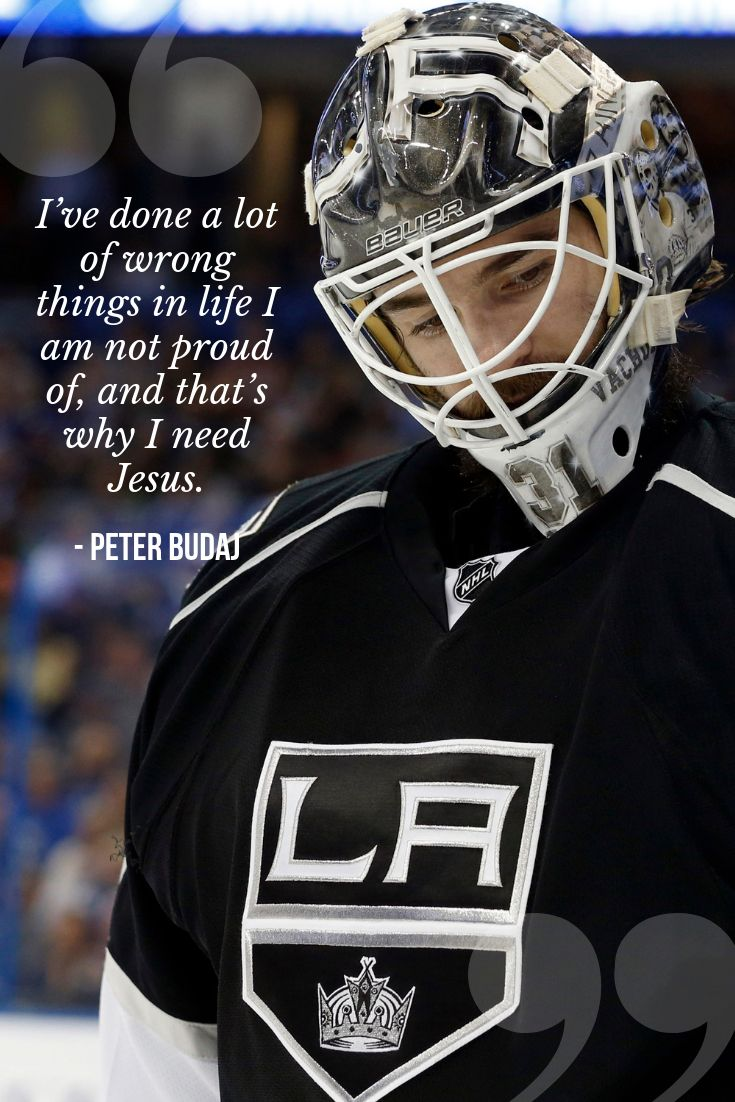 Humble Yourself Before The Lord Peter Budaj Quotes La Kings Nhl Wallpaper Background Christian Athletes Goalie Quotes Gym Bra Top