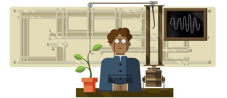 158° anniversario della nascita di Jagadish Chandra Bose