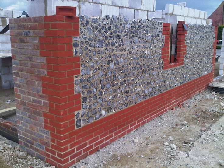 Flint And Brick Work Dbg Building Solutions Red Brick House