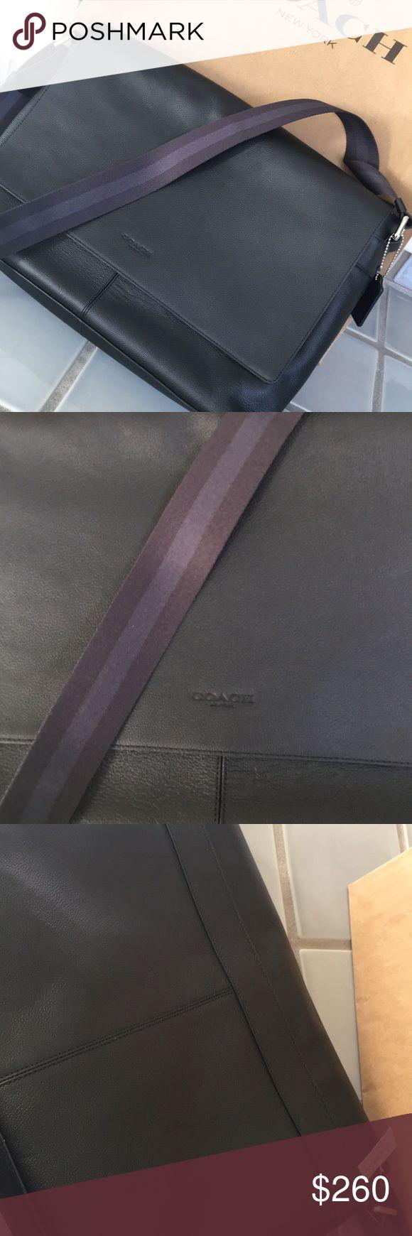 New coach laptop/ messenger bag New coach laptop/ messenger bag - NWT- Authentic Coach Bags Laptop Bags