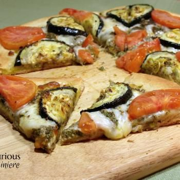 leather coats ladies Roasted Zucchini Pesto Pizza  FOOD
