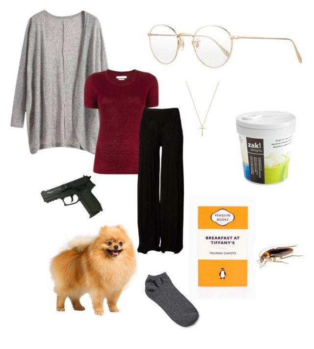 """War of the Coprophages"" by misssidneyd ❤ liked on Polyvore featuring Oliver Peoples, Zak! Designs, Capote, Gucci, Étoile Isabel Marant, Rick Owens, Forever 21, xfiles, danascully and scully"