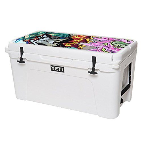 MightySkins Protective Vinyl Skin Decal for YETI Tundra 75 qt Cooler Lid wrap cover sticker skins Graffiti Wild Styles >>> Read more  at the image link. (This is an Amazon affiliate link and I receive a commission for the sales and I receive a commission for the sales)