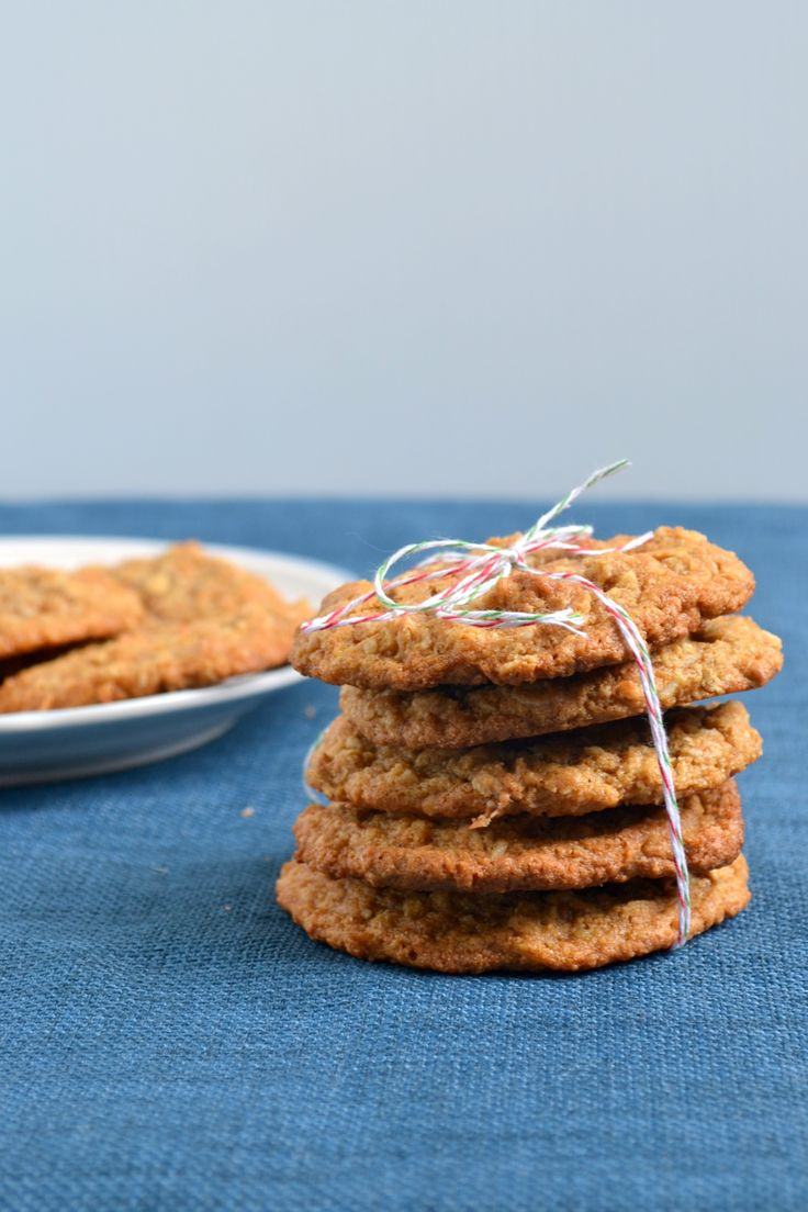 100% Whole Wheat Chewy Oatmeal Coconut Cookies | Recipe