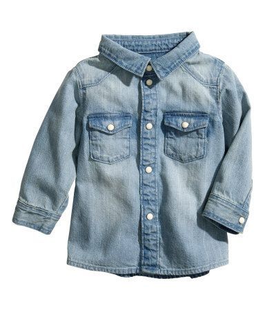 Product Detail H Amp M Us Baby Denim Shirt 12 95