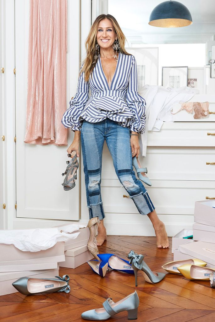 Sarah Jessica Parker's exclusive Net-a-Porter's shoe collection is finally here.