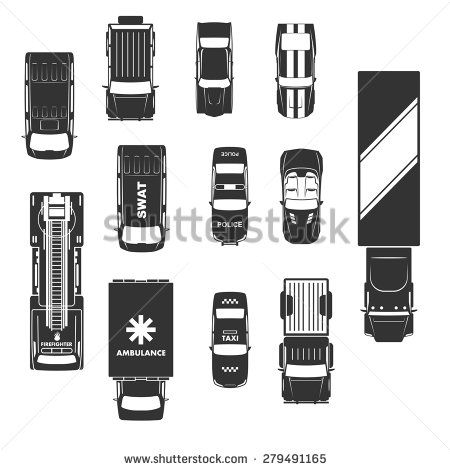 stock-vector-cars-icons-top-view-279491165.jpg (450×470)