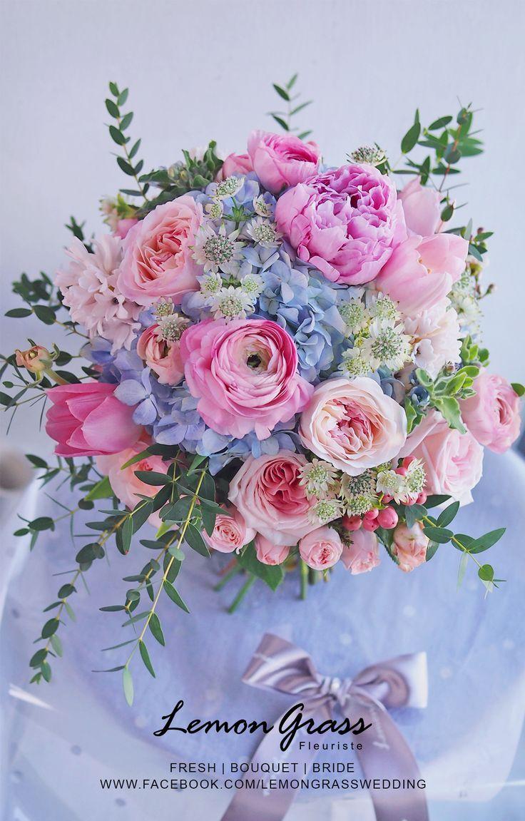 #Bouquet # Bonito # ramo de boda en colores pastel #pastas #Boda