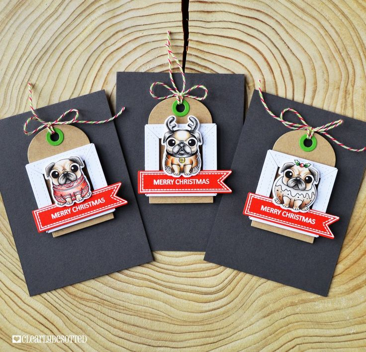Bah Hum-Pug!; Tiny Type; Banner Basics; Tag It Die Collection; Frame It Die Collection
