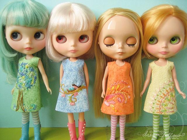 /Cute Dolls Dresses, Blythe Dolls, Art, Beautiful Dresses, Dresses Design, Blythe Dresses, Dolly Dresses, American Girls Dolls, Girls Dolls Clothing