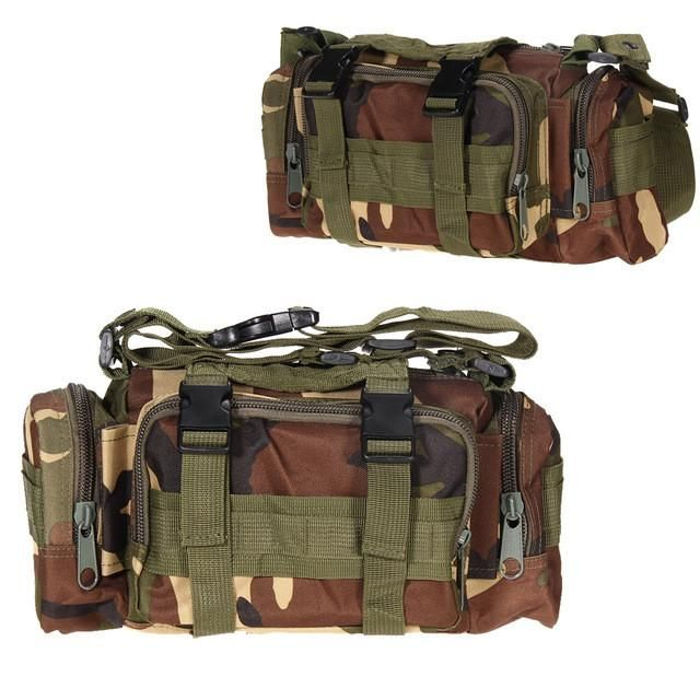 Outdoor Military Tactical Waist Pack 3L Waterproof Oxford Molle Camping Hiking Pouch Backpack Bag Waist Bags mochila militar