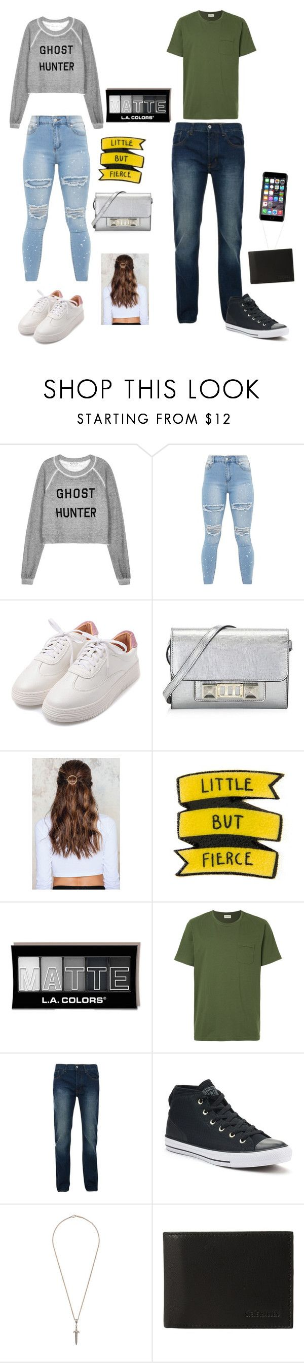 """Untitled #135"" by jocelineramirez ❤ liked on Polyvore featuring Wildfox, Proenza Schouler, NA-KD, Oliver Spencer, Bellfield, Converse, Roman Paul, Steve Madden and Dolce&Gabbana"