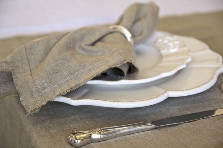 romantic prairie style napkins