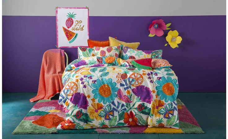 Garden Brights Quilt Cover Set by Kas Kids