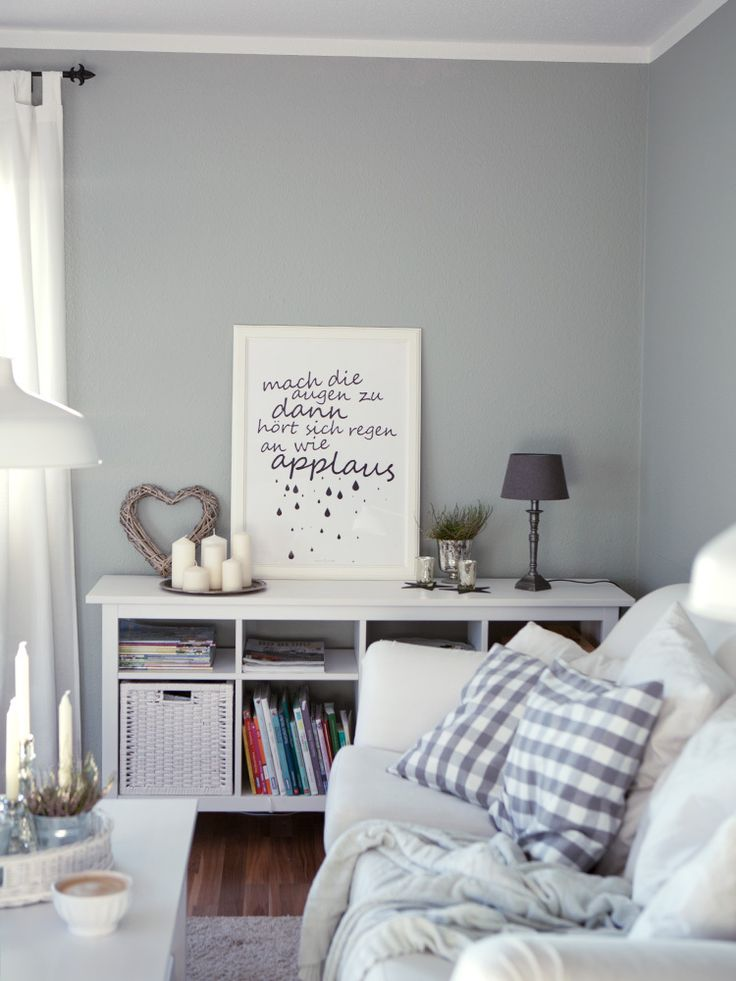 Living: Lamp Room Gray No. 88 von Farrow and Ball - Wohnzimmer-Streichaktion