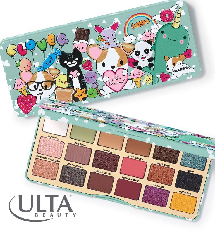 Puppy-inspired makeup products? Does it get any better than this?! (Answer: Nope.) We love this kawaii-designed Clover eyeshadow palette by Too Faced, named in honor of the founders' very own furbaby. It's packed with 18 all-new shades of velvety mattes and shimmers, neutrals and bright pops of color. You'll only find it at Ulta Beauty!