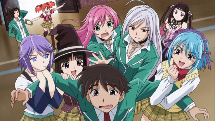 Rosario + Vampire probably my favorite anime ever