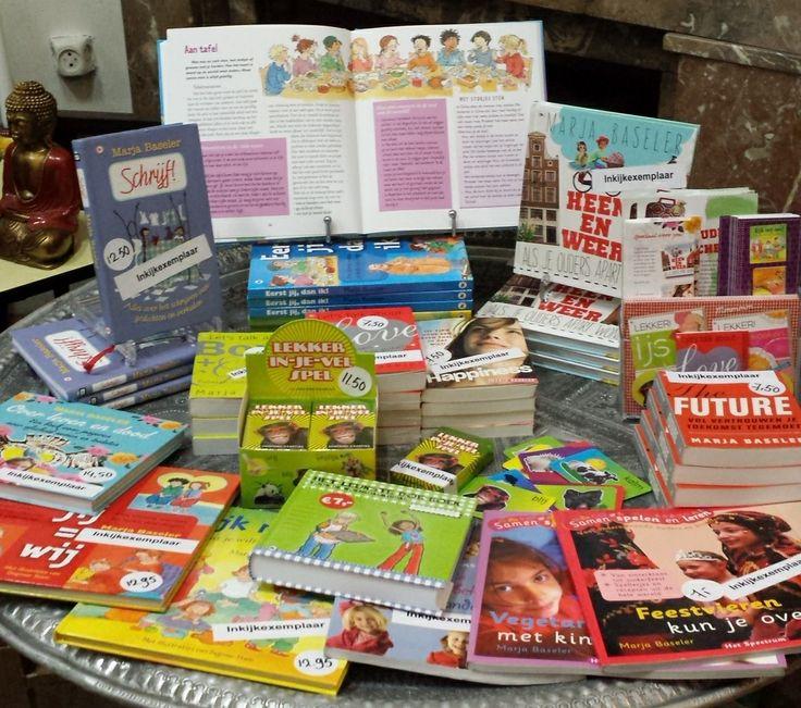Op zoek naar een origineel cadeau? Bestel via mijn website www.marjabaseler.nl en ik schrijf iets persoonlijks in het boek voor je kind, kleinkind, buurkind, nichtje of neef. Boeken voor alle leeftijden!