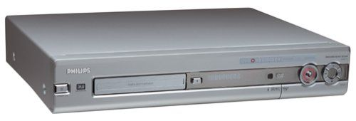 Philips DVDR72 Progressive-Scan DVD Player / Recorder Combination DVD player/recorder with camcorder-ready DV (i.Link), component-video, composite-video, and S-video inputs. Record from TV directly to DVD; up to 6 hours video recording per side (either DVD+R or DVD+RW). Progressive-scan output for seamless, flicker-free images on high-definition and HD-ready TVs. Favorite Scene Selection simplifie... #Philips #HomeTheater