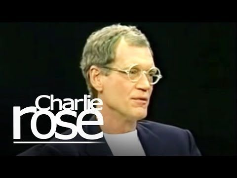 David Letterman Opens Up To Charlie Rose About Depression, Joys Of Fatherhood Full Interview HD - YouTube