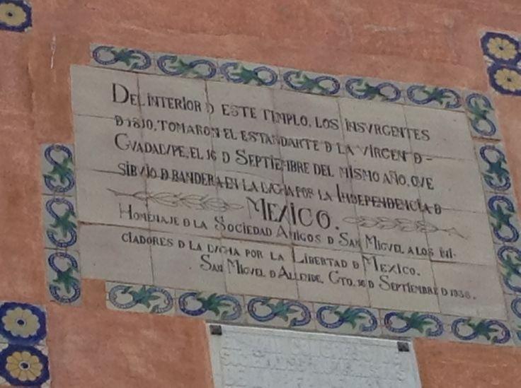 Santuario en Atotonilco, Gto. México. Lugar emblemático en  Guanajuato, don pide el cura Miguel Hidalgo y Costilla, tomó el estandarte de la Virgen  de Guadalupe, dando inicio a la lucha armada por la independencia de México