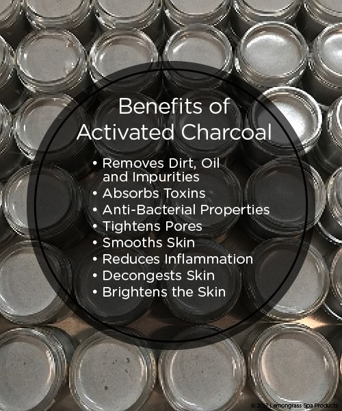 Benefits of activated charcoal for your skin